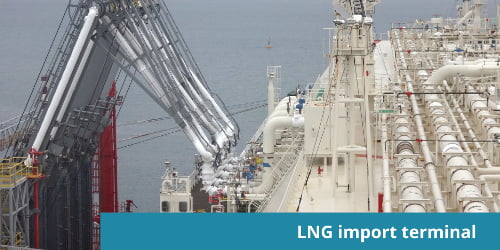 About The Lng Import Terminal